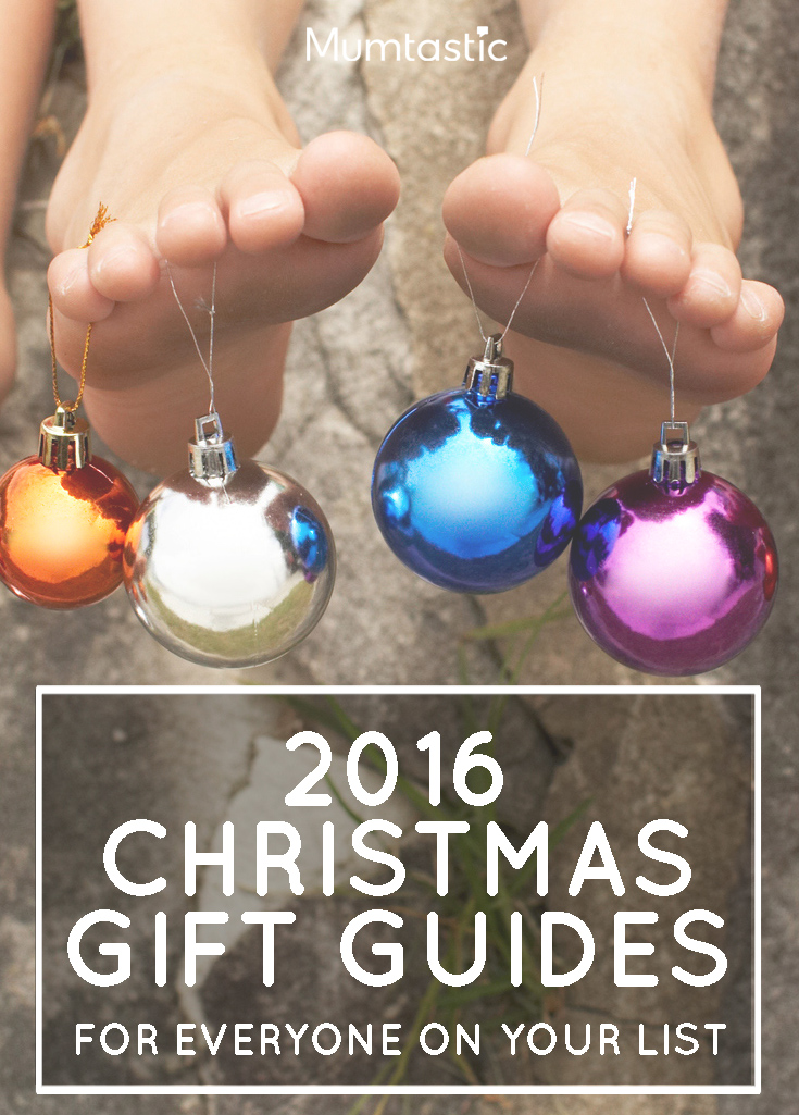 2016 Christmas Gift Guides - for everyone on your list