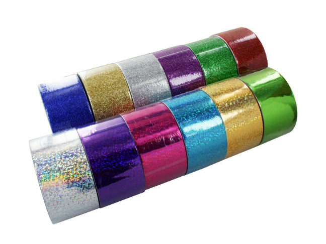 Gifts for the Kids Who Love Dolls and All the Fun That Comes with Them on @ItsMomtastic | Holiday Gift Guide featuring Glittery and Holographic Colourful Duct Tape