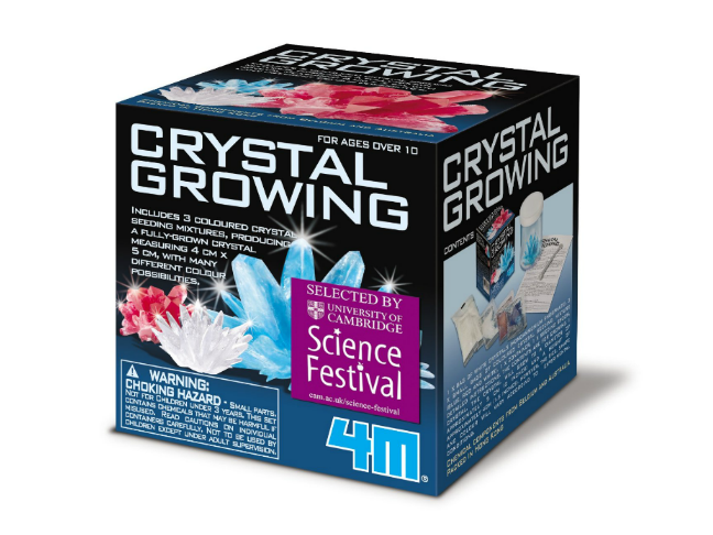 Gifts for the Kids Who Love Dolls and All the Fun That Comes with Them on @ItsMomtastic | Holiday Gift Guide featuring the 4M Mini Crystal Growing Kit