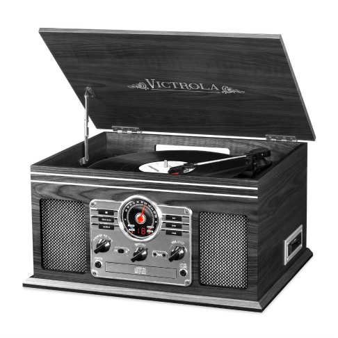 Victrola record player