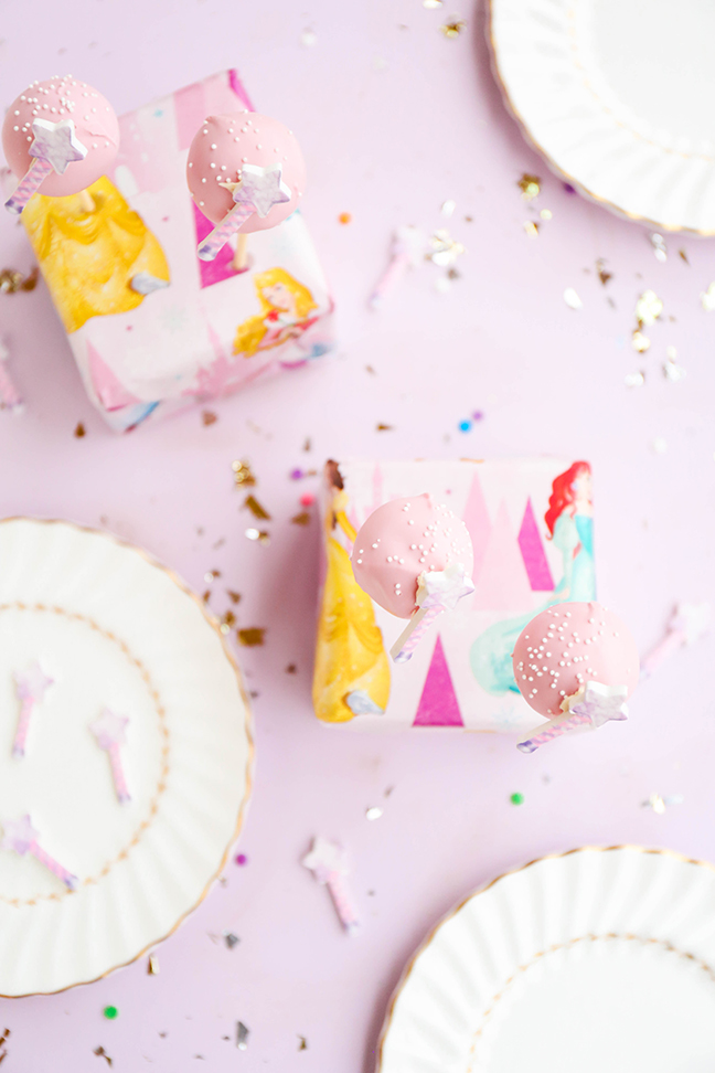 Magical Princess Cake Pops