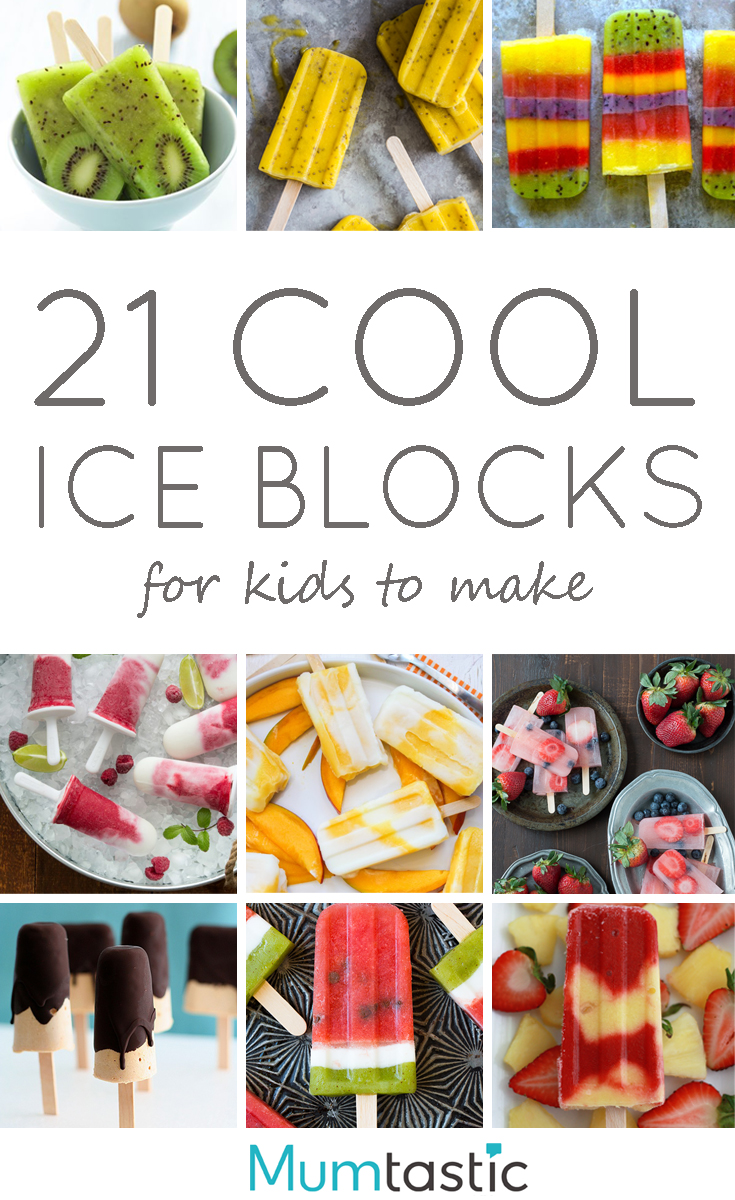 21 Cool Ice Blocks Recipes for Kids to Make