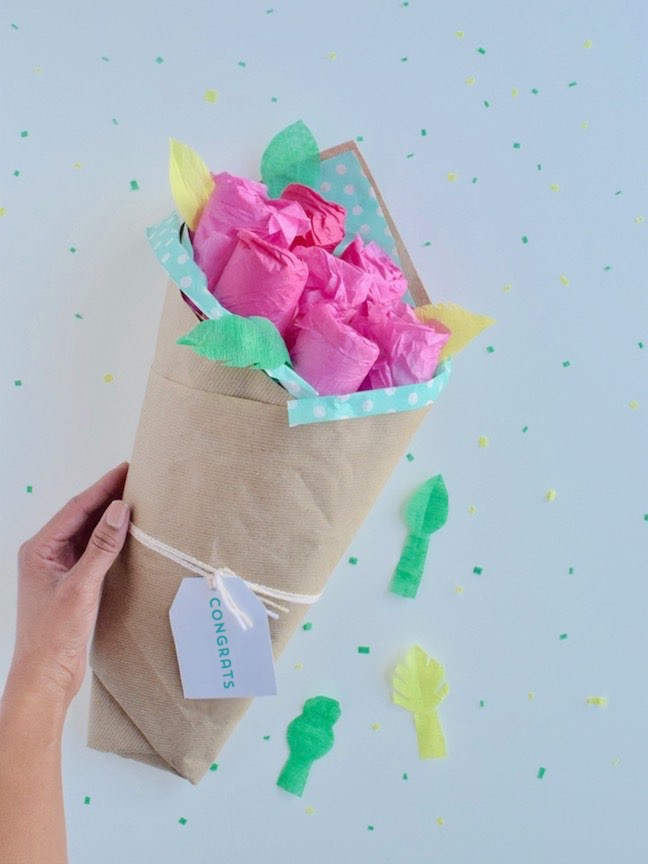 How to Make the Prettiest Nappy Bouquet Ever