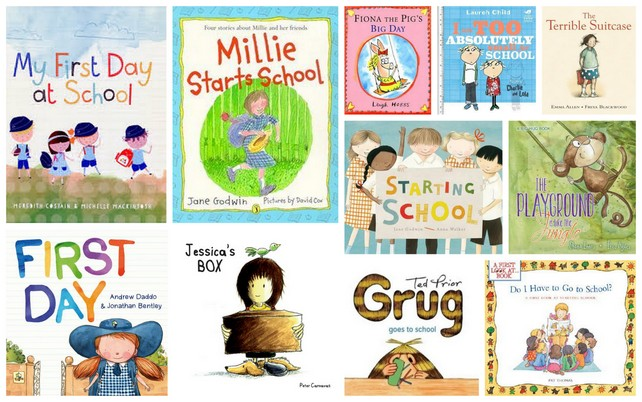 11 Books About Starting School