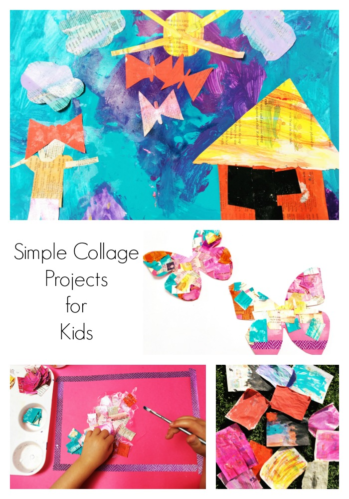 Simple Collage Project for Kids