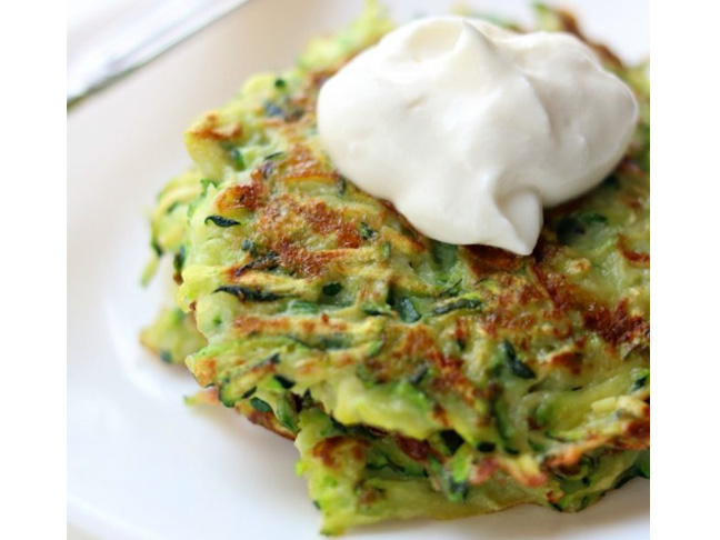 These Crispy Zucchini Fritters Are Ready In 15 Minutes