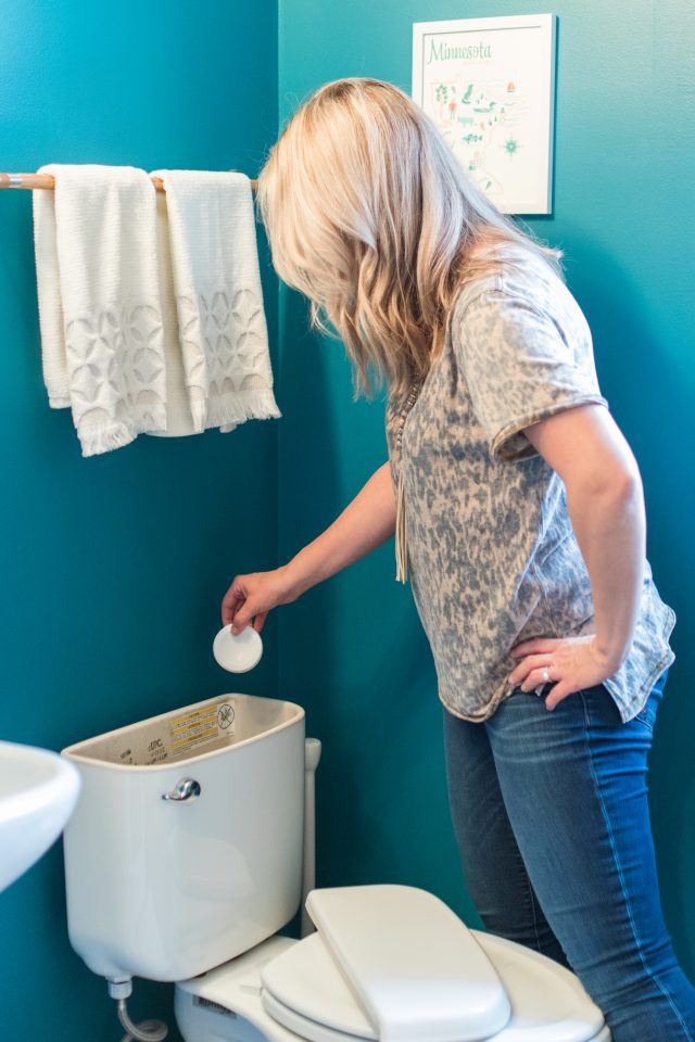 Bathroom Cleaning shortcuts