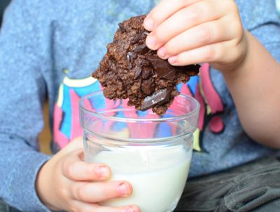 Healthy Chocolate Chickpea Cookies