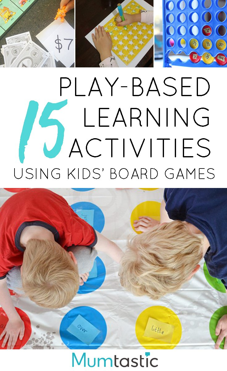 15 Play Based Learning Activities Using Kids' Favourite Board Games