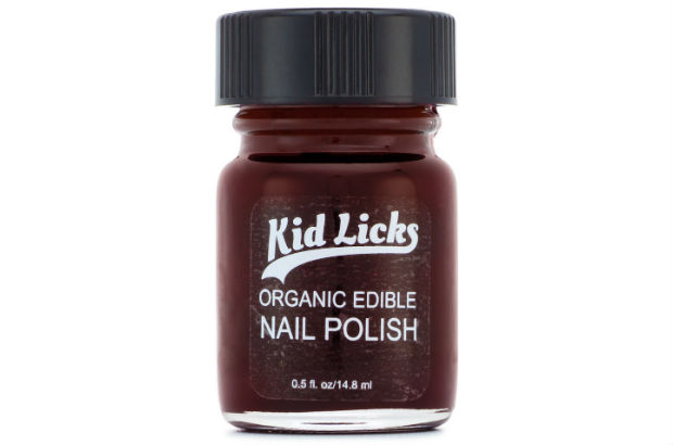Kid Licks Nail Polish