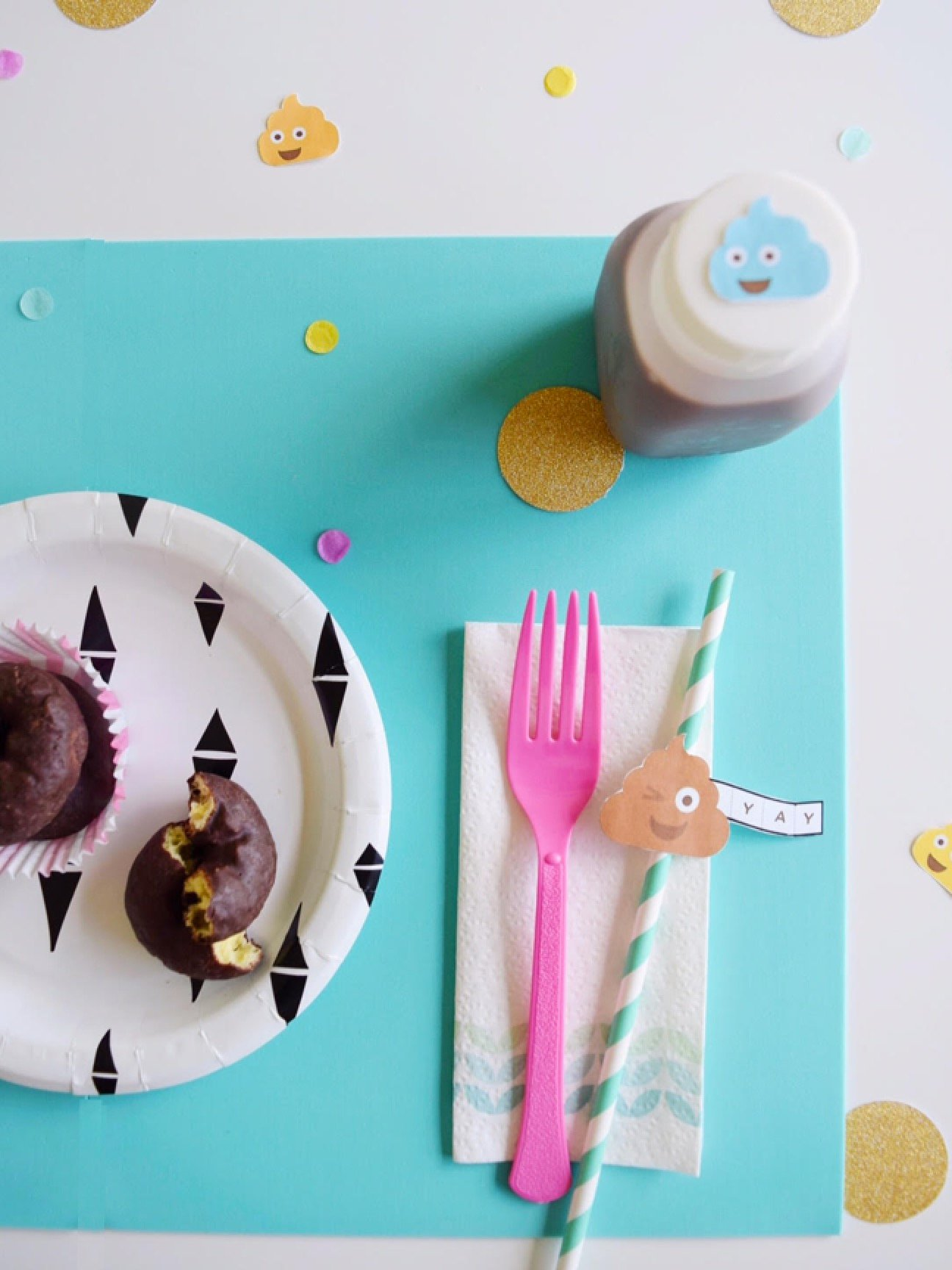DIY Potty Like Rockstar Tablescape and Printables | Potty Training Party