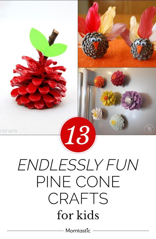 13 Endlessly Fun Pine Cone Crafts For Kids