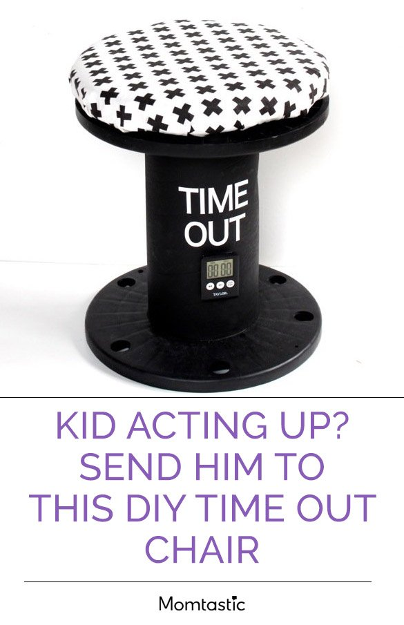 Kid Acting Up? Send Him To This DIY Time Out Chair