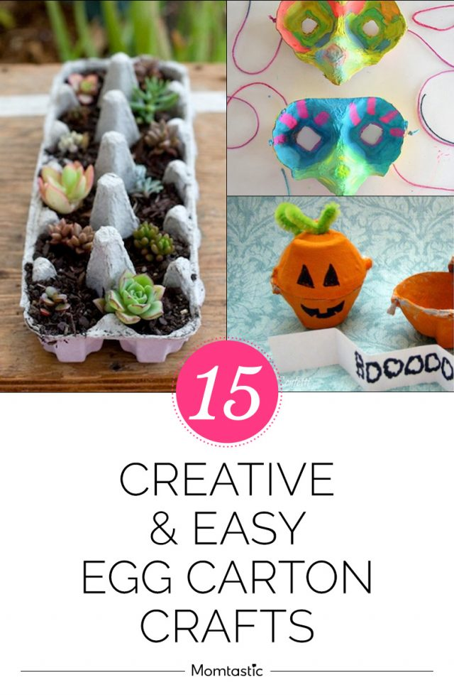 15 Creative & Easy Egg Carton Crafts