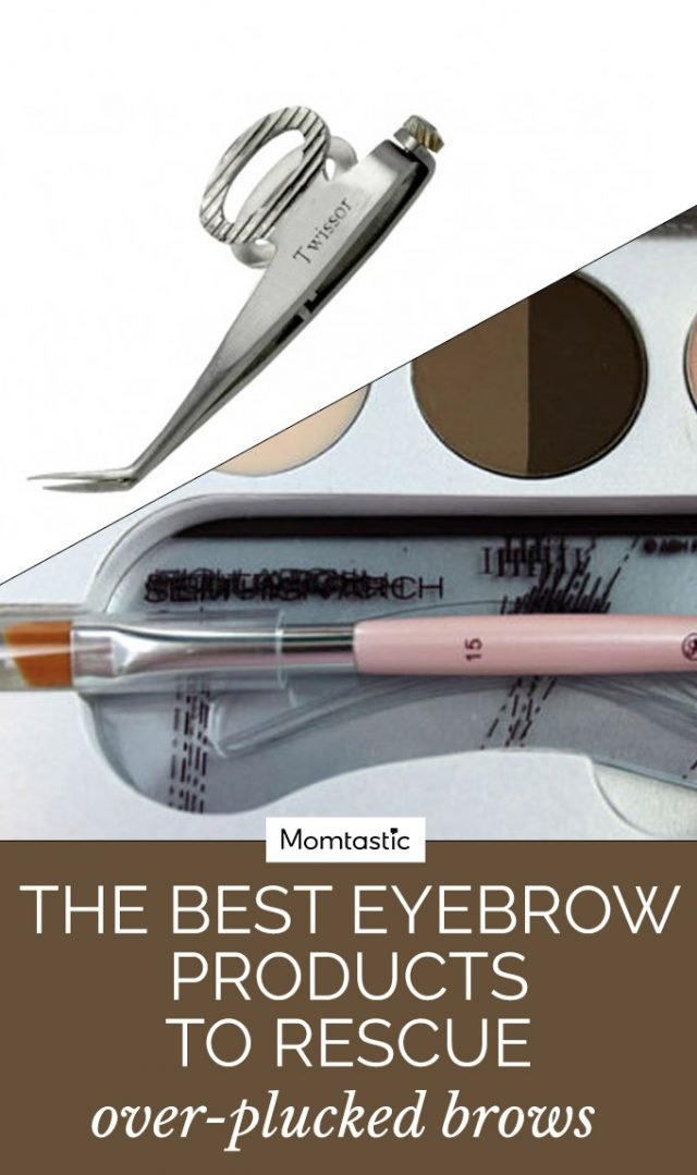 The Best Eyebrow Products To Rescue Over-Plucked Brows