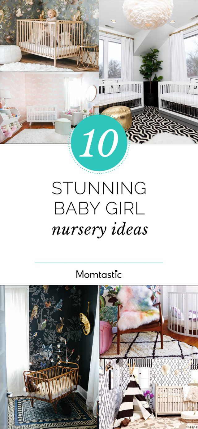 10 Stunning Baby Girl Nursery Ideas