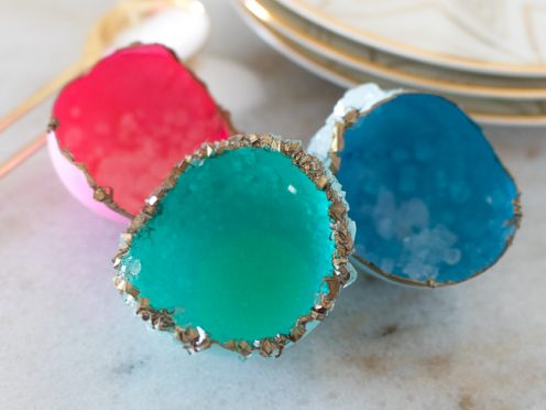 Grow Geodes at Home for Less than $5 with Egg Shells