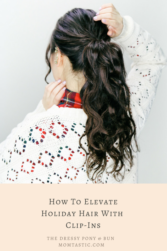 How To Elevate Holiday Hair With Extensions