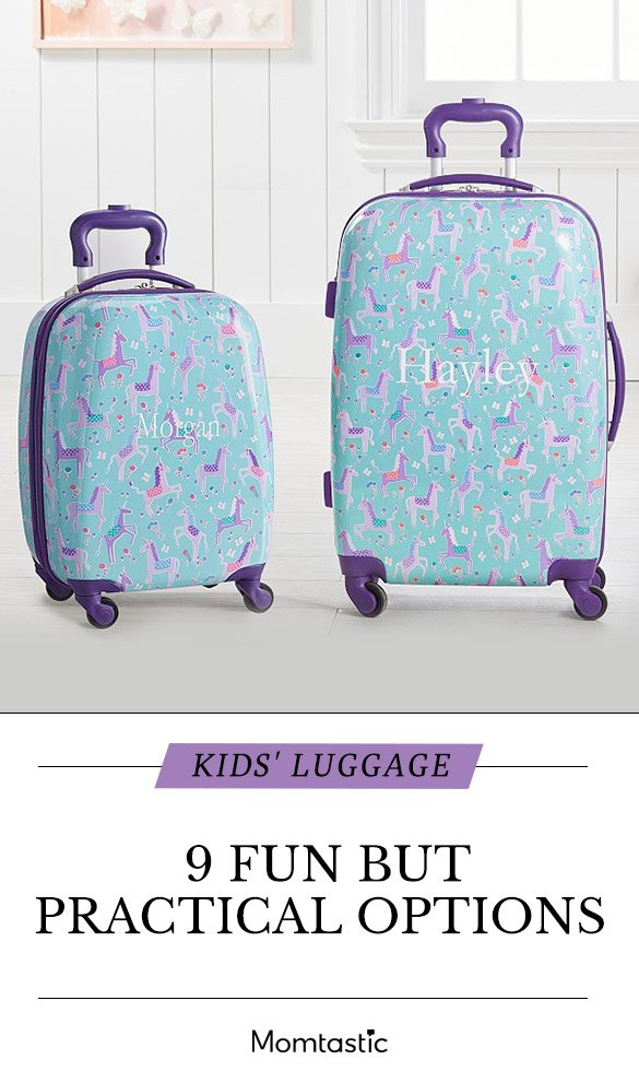 Kids' Luggage: 9 Fun Options That Are Practical, Too