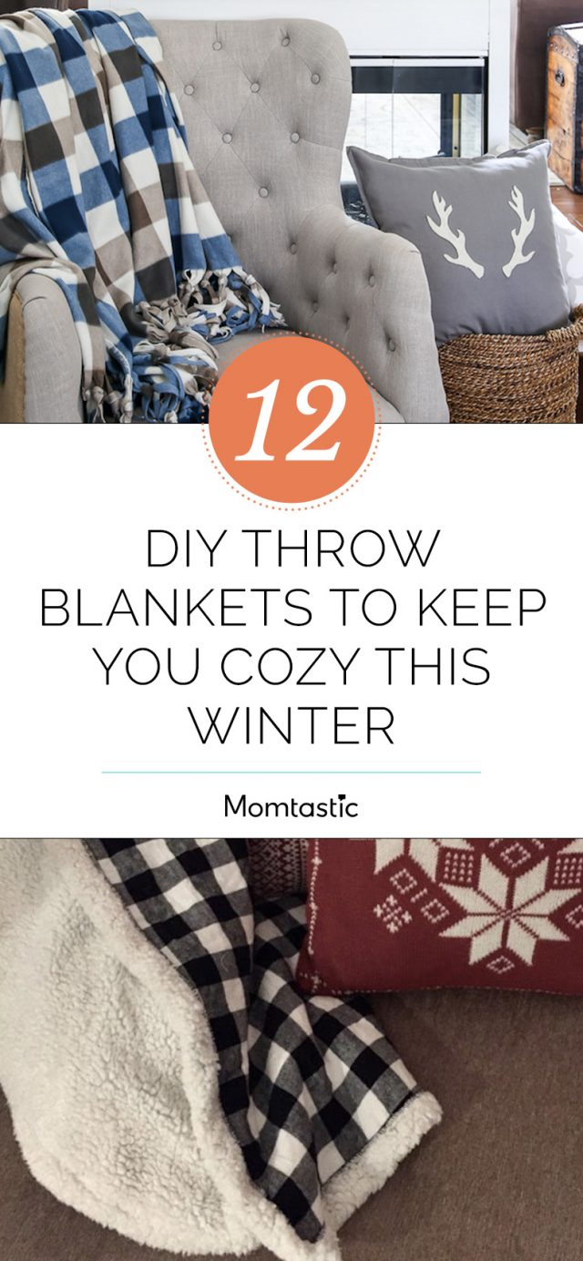 12 DIY Throw Blankets to Keep You Cosy This Winter