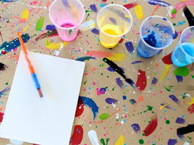 Genius Mum Hack: Easy, Foldup DIY Art Table for Kids
