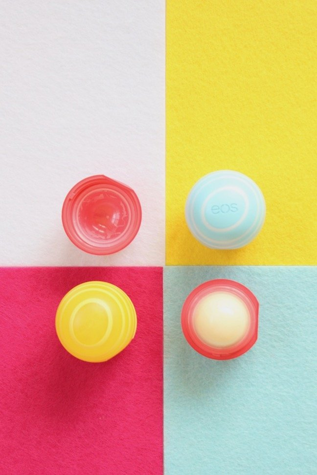 Trash To Treasure: How to Refill Colourful Empty EOS Containers With Homemade Lip Balm