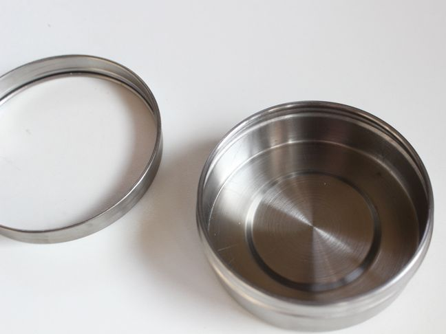 round-stainless-steel-container