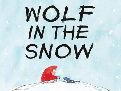 caldecott winners wolf in the snow