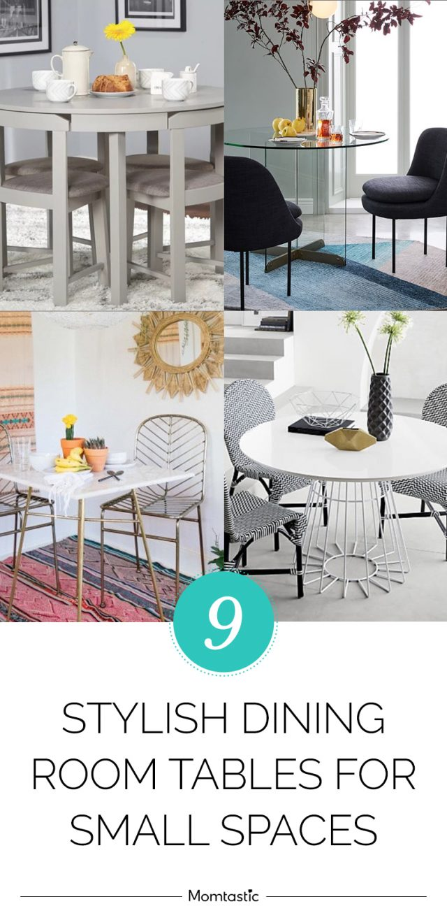 9 Stylish Dining Room Tables for Small Spaces