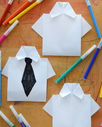 Craft Like A Boss With These 'Boss Baby'-Inspired Origami Business Shirts
