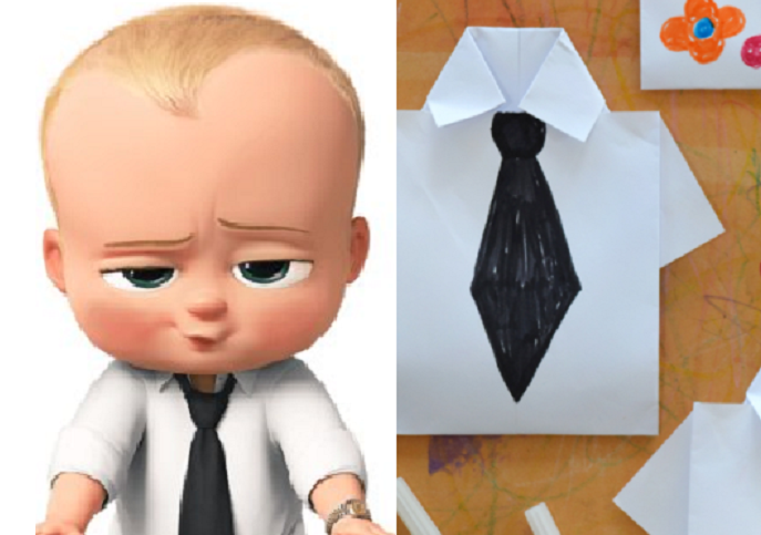 Craft Like A Boss With These Boss Baby Inspired Origami