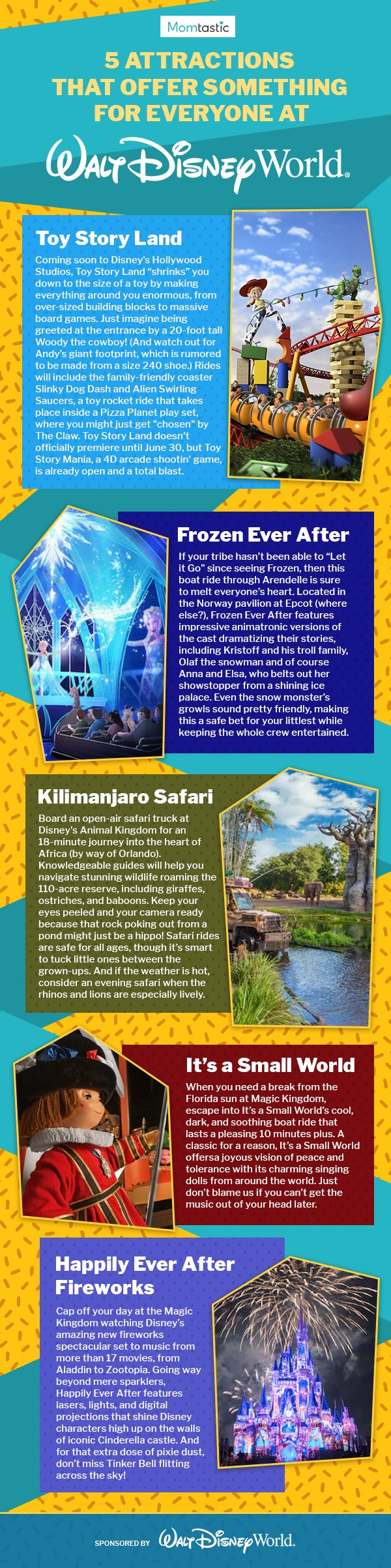 5 Attractions That Offer Something for Everyone at Walt Disney World