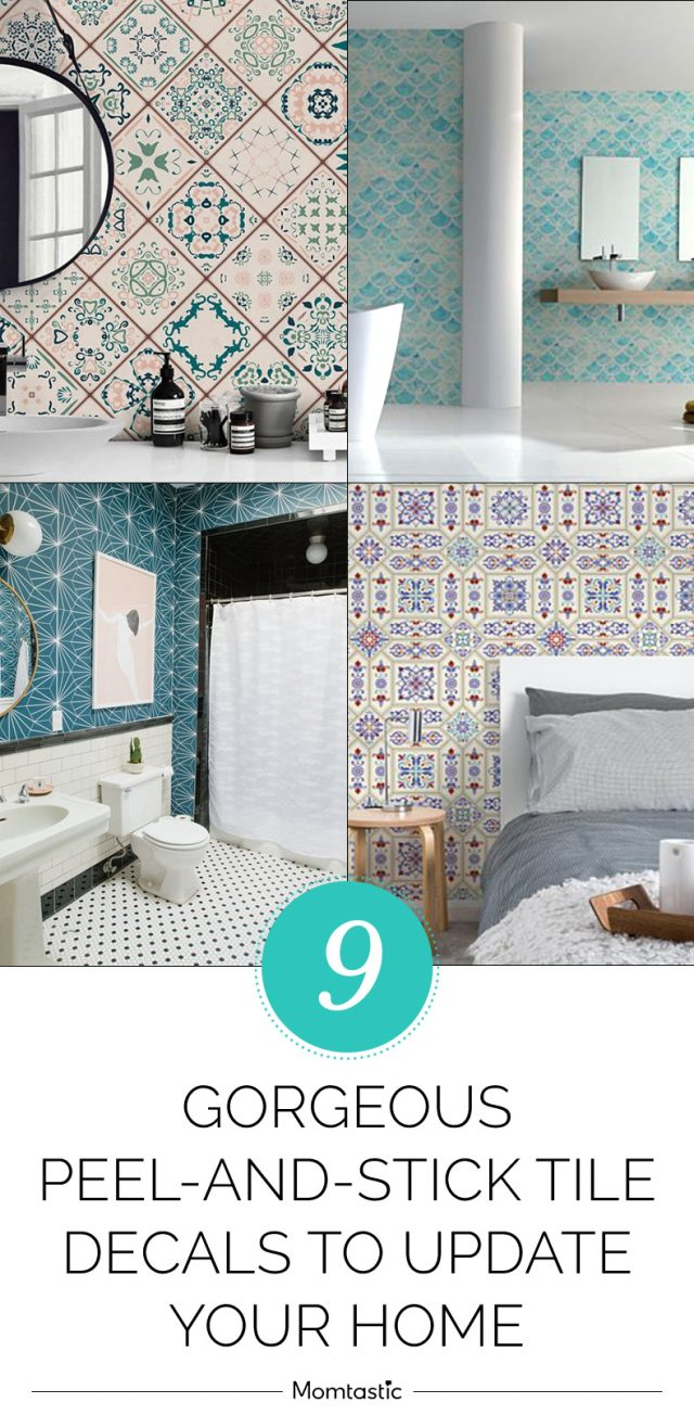 9 Gorgeous Peel-and-Stick Tile Decals to Update Your Home