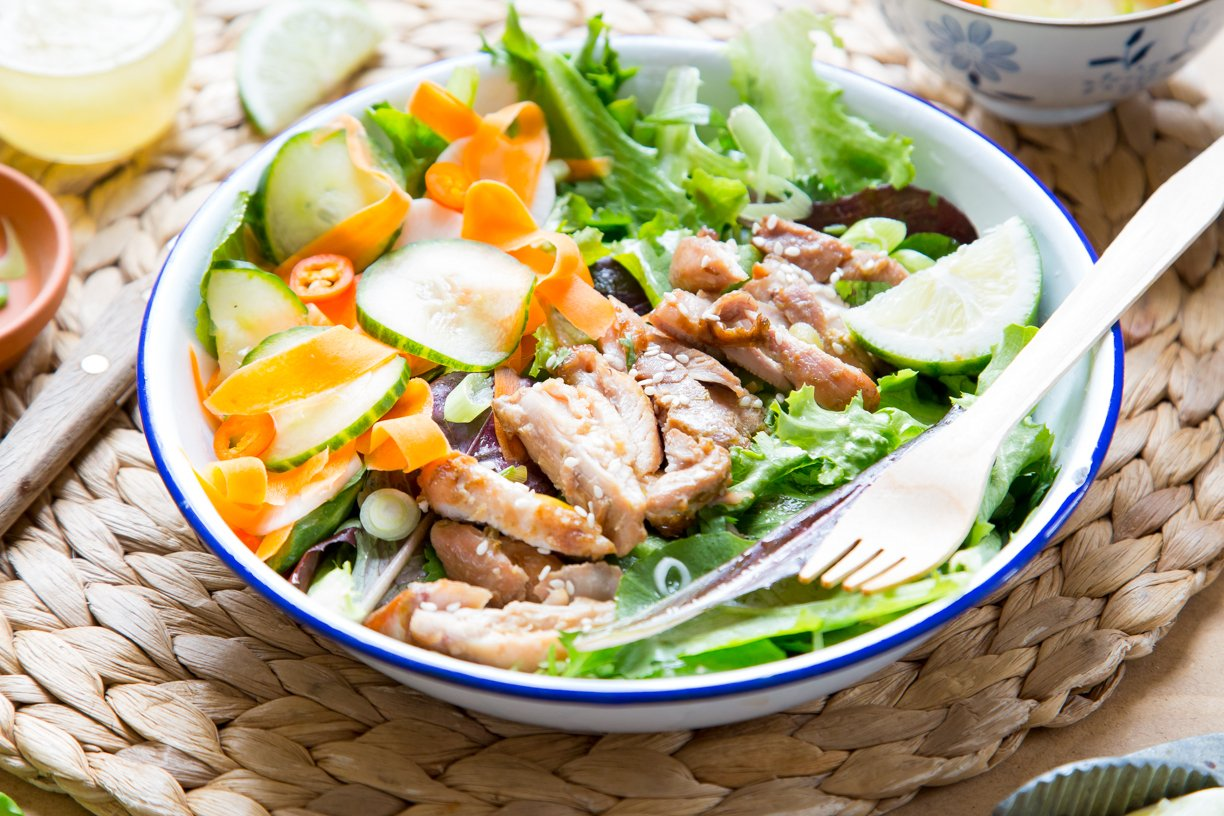 Forget the Bread! This Banh Mi Inspired Salad Recipe if Perfect for Spring