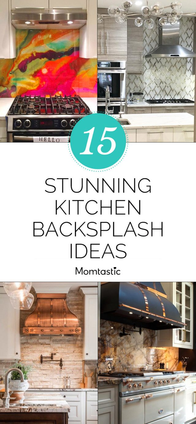15 Stunning Kitchen Backsplash Ideas