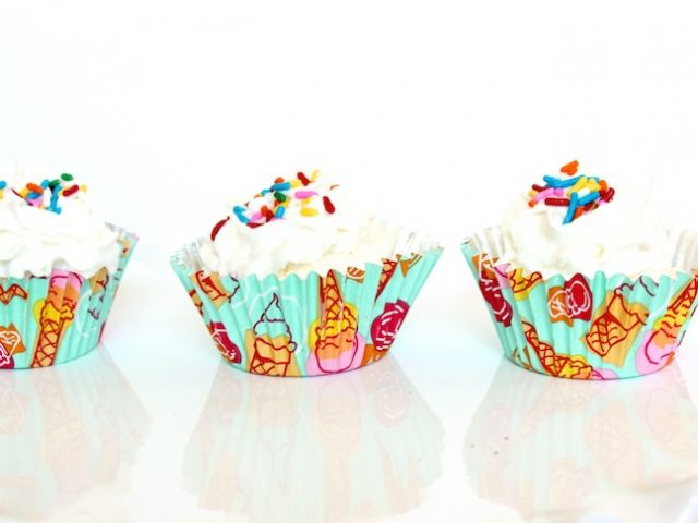 ice-cream-cupcake-with-whipping-cream-and-sprinkles