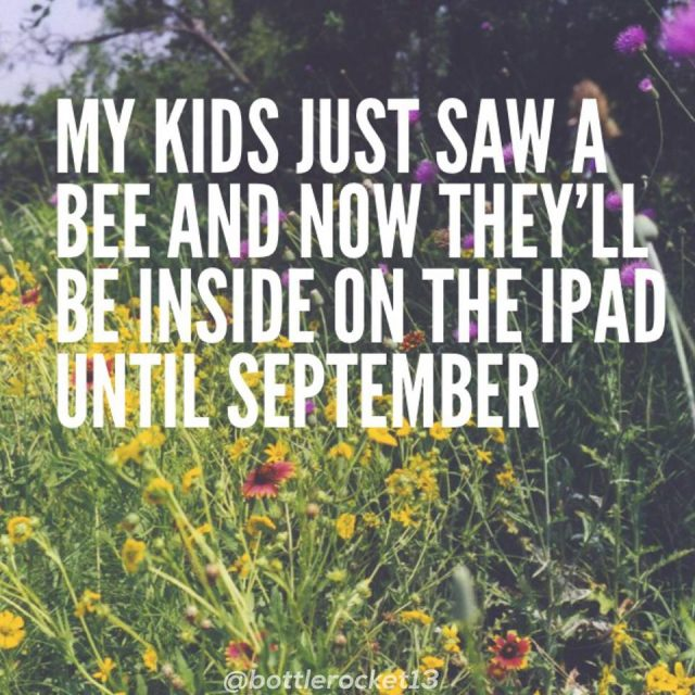 The funniest memes about summertime with the kids on @itsMomtastic by Kim Bongiorno featuring Bottlerocket