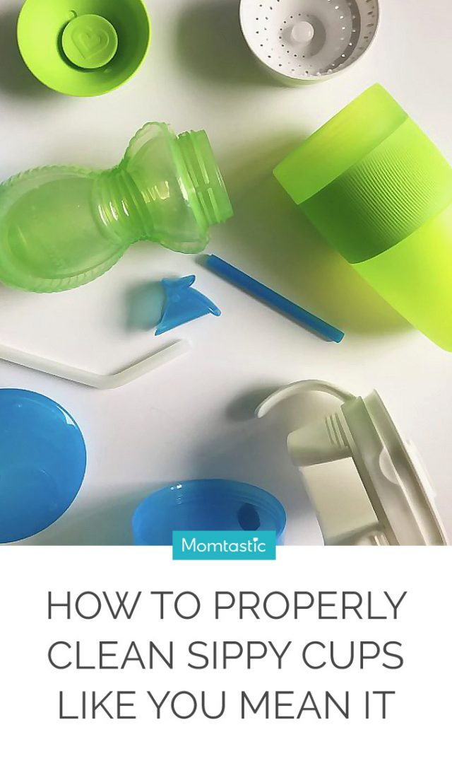 How To Properly Clean Sippy Cups Like You Mean It