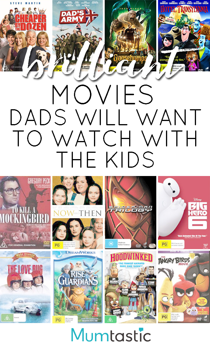 Brilliant movies dads will want to watch with the kids