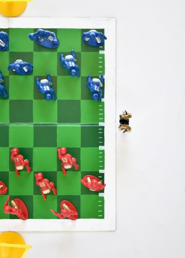 From Firstdowns To Touchdowns, This DIY Football Checkers Has It All
