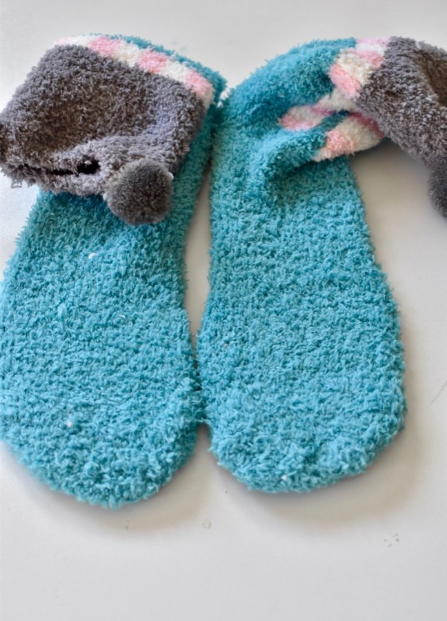Slip No More With These Simple DIY No Slip Socks