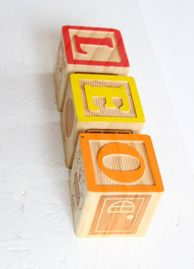 leo-baby-block-letters-red-yellow-and-orange