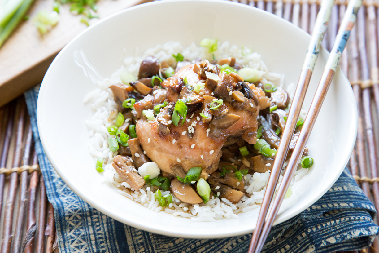 Soy Ginger Chicken Thighs Recipe