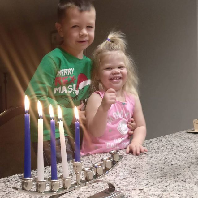 Holiday Juggle Struggle: what it's like to celebrate Christmas and Hanukkah with family hours apart who have very different traditions