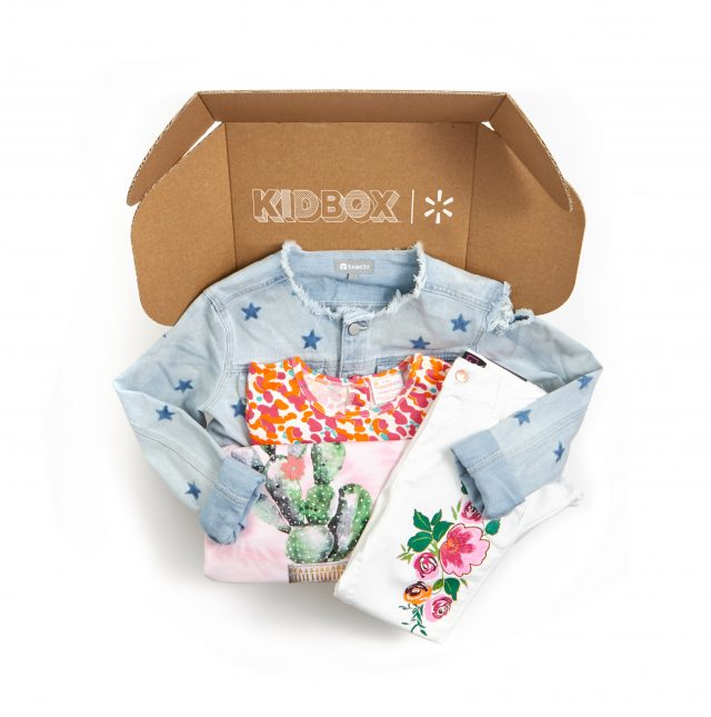 Walmart, KIDBOX Unveil Personalized Clothing Subscription Service