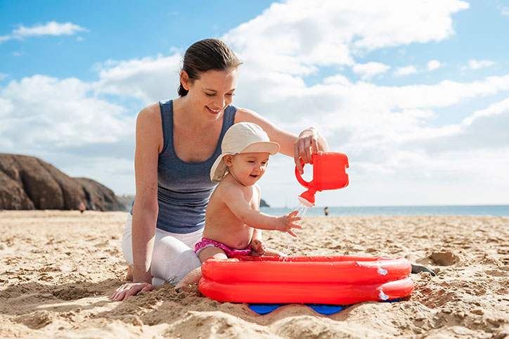 Beach Babies: How to Train Your Little One to Love the Beach