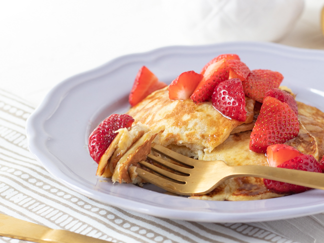 Easy 3-Ingredient Pancakes are the Answer to Busy Mornings