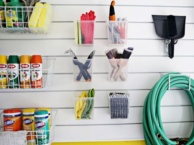 garage organisation tips