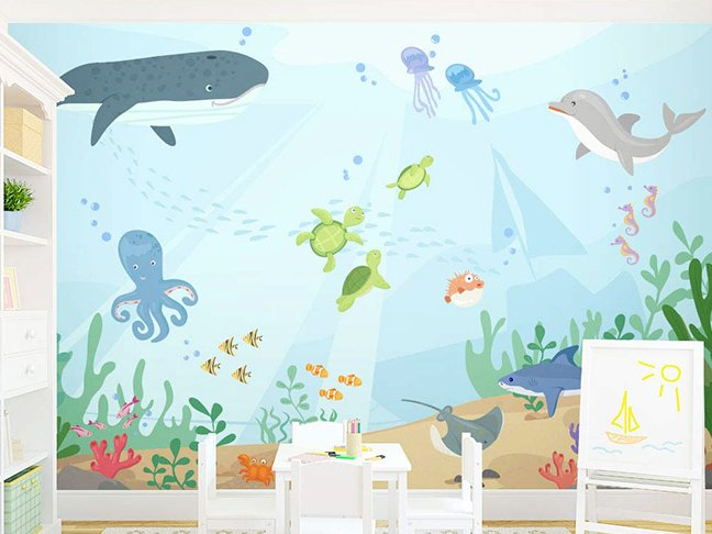 11 Adorable Nursery Wall Murals For Your Baby