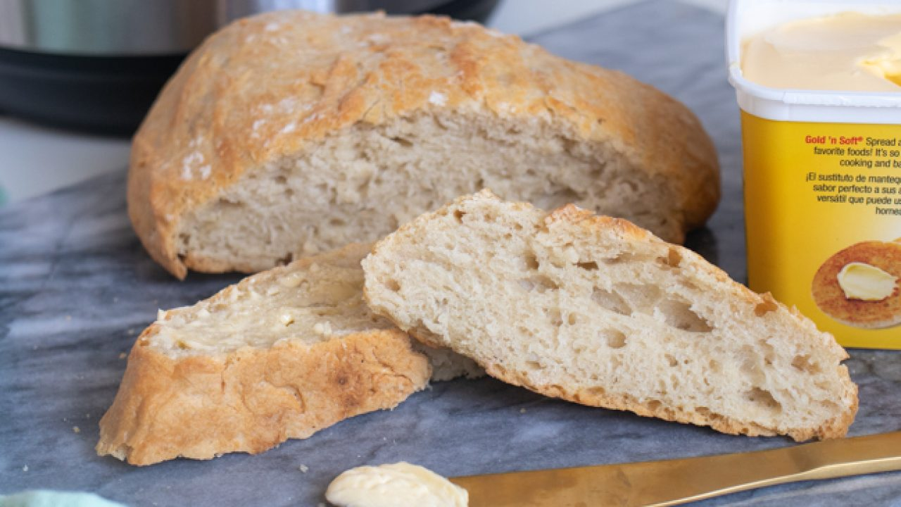 This Instant Pot Bread Recipe Is Quick Enough For A Weeknight